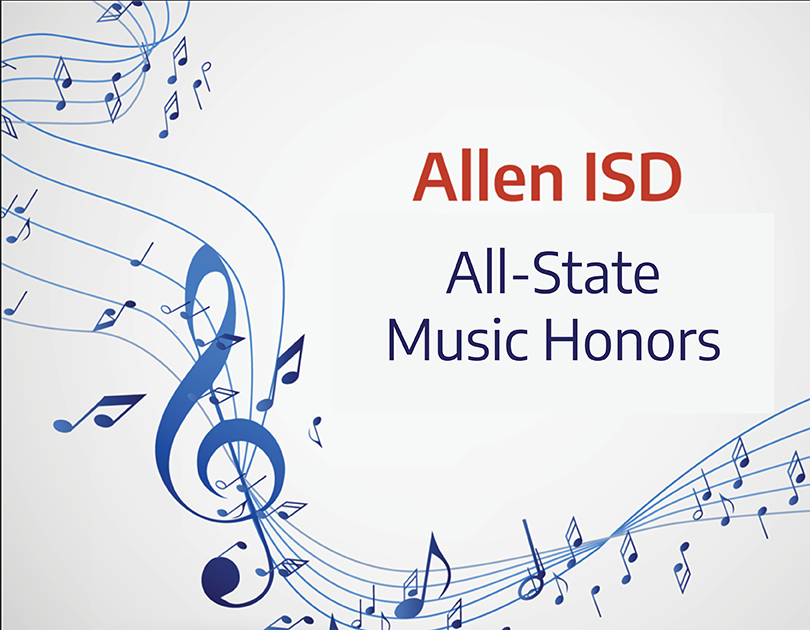 Allen Musicians, Singers Receive All-State Honors