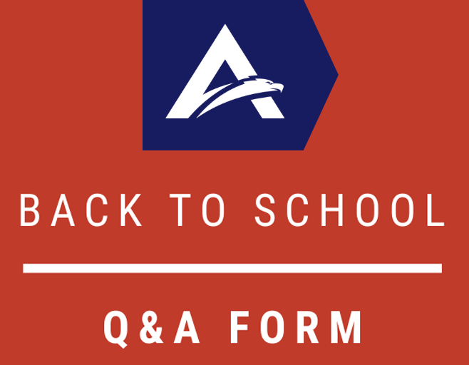 Submit Your Back-to-School Questions