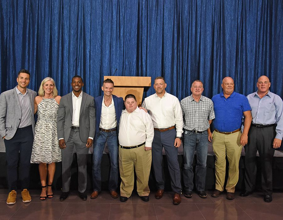 Nine Inducted into Allen ISD Athletics Hall of Honor