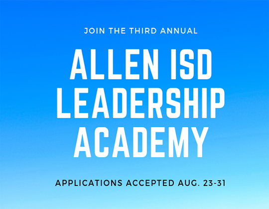 Leadership Academy Applications Open