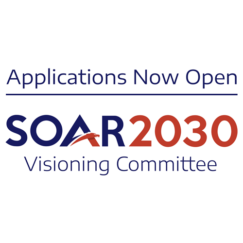A graphic for the new SOAR 2030 committee.