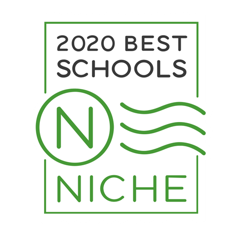 The logo for the 2020 Best Schools ranking.