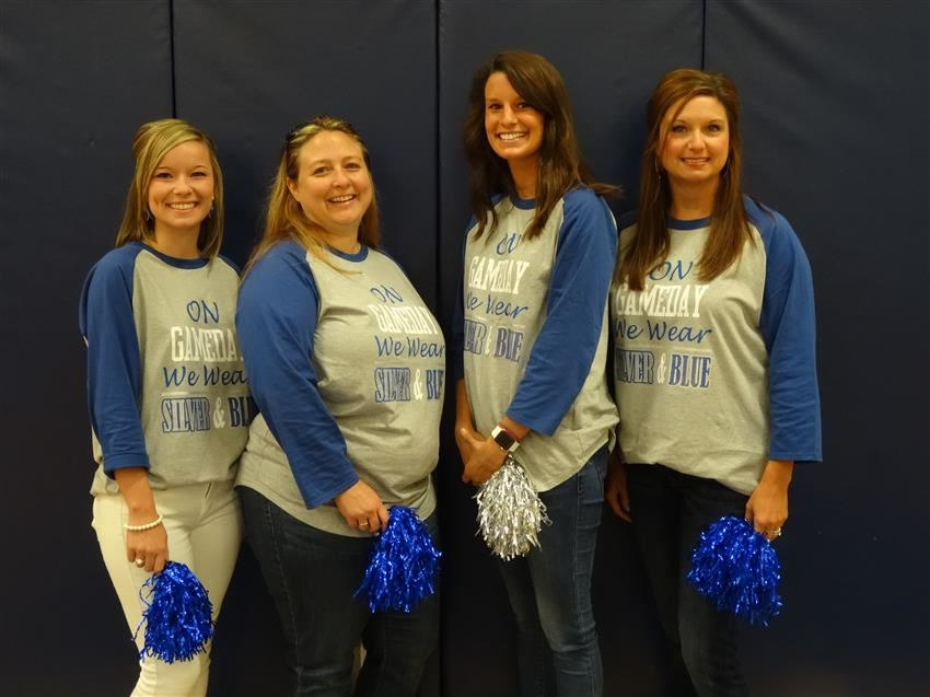 The Fourth Grade Team - Mrs. Rushing,Mrs.Raecher,Mrs.Wood, and Mrs.Witt