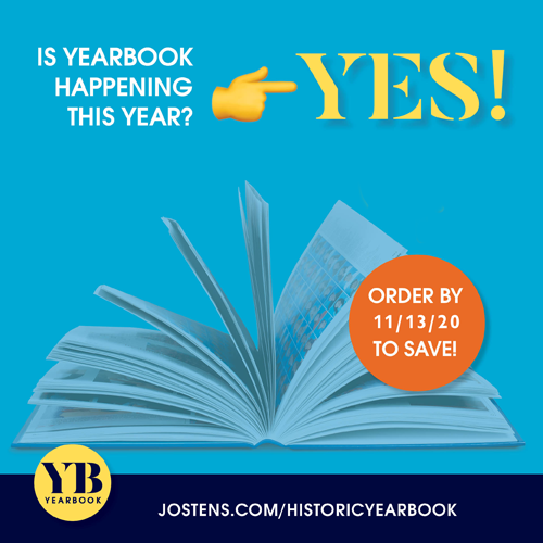 Buy your 2020-2021 yearbook!