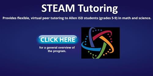 STEAM Tutoring for Science and Math