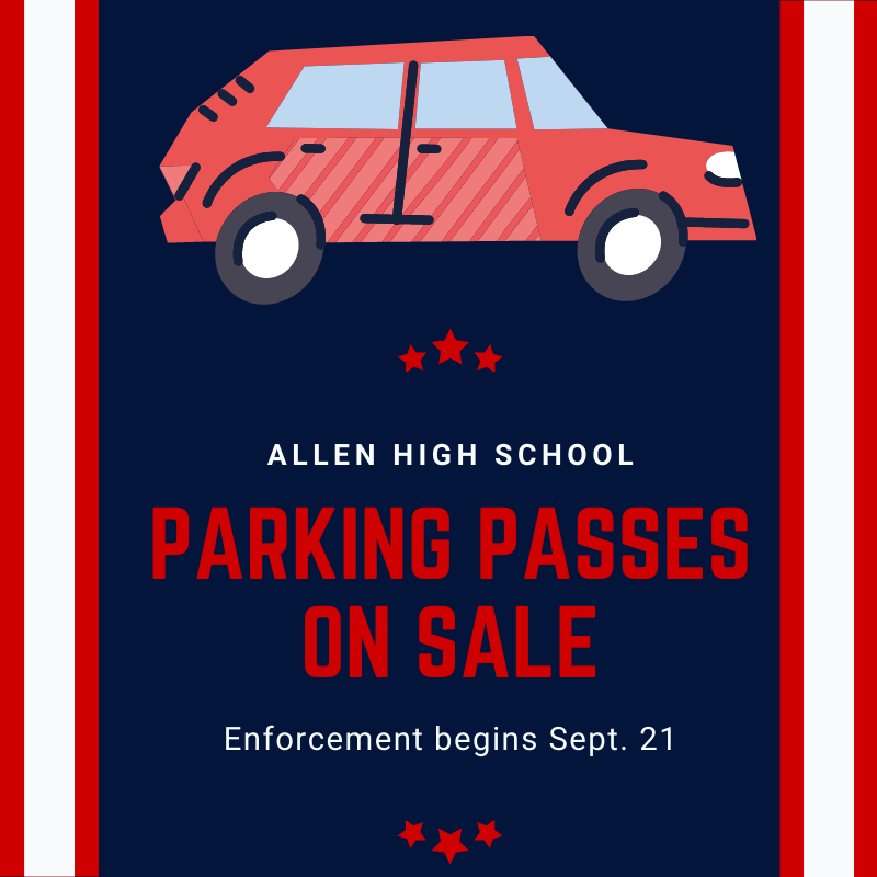 Parking Passes on Sale