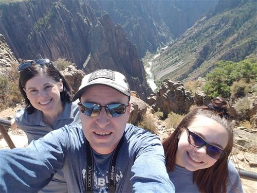 Byers Family at Black Canyon