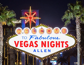 Save the date! Party With A Purpose: Vegas Nights