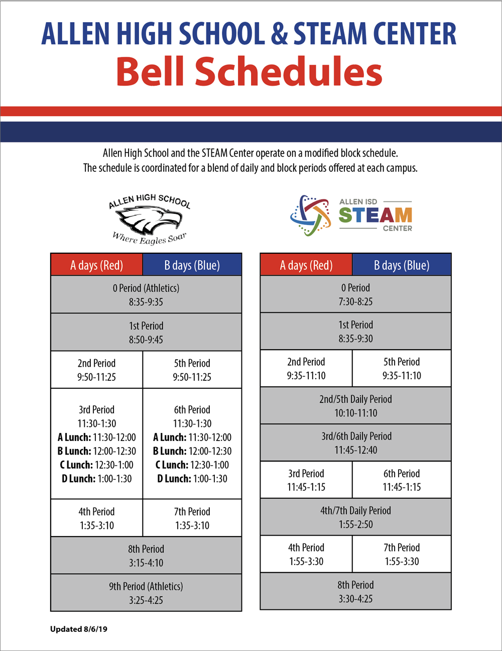 About Us / Class/Bell Schedule