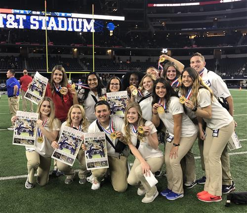 2018 State Championship Student Athletic Trainers
