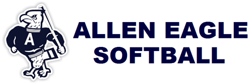 Decorative image for Allen Eagle Softball