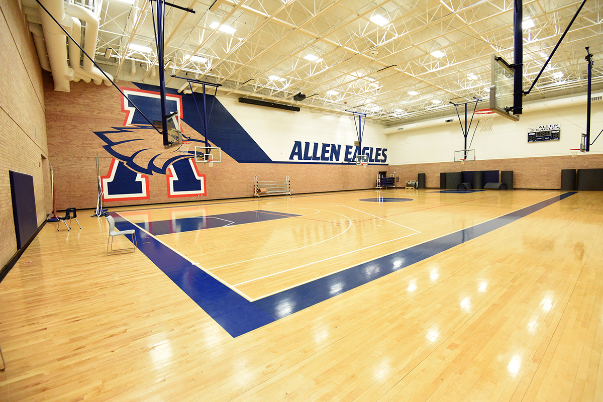 Allen High School Physical Education Gym