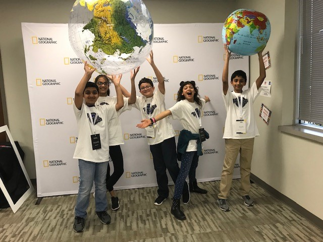 GATE 6th Graders compete at NatGeo Challenge