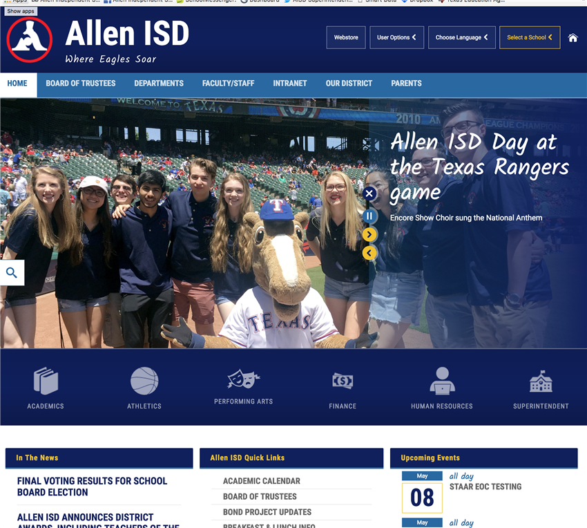 Allen Home Page