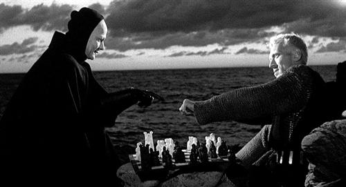 Chess game from the film Seventh Seal