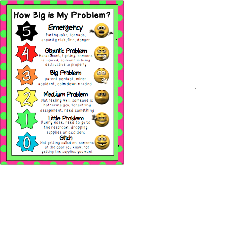 photo about How Big is My Problem Printable called Exclusive Products and services / Social Expertise Supports Throughout Options