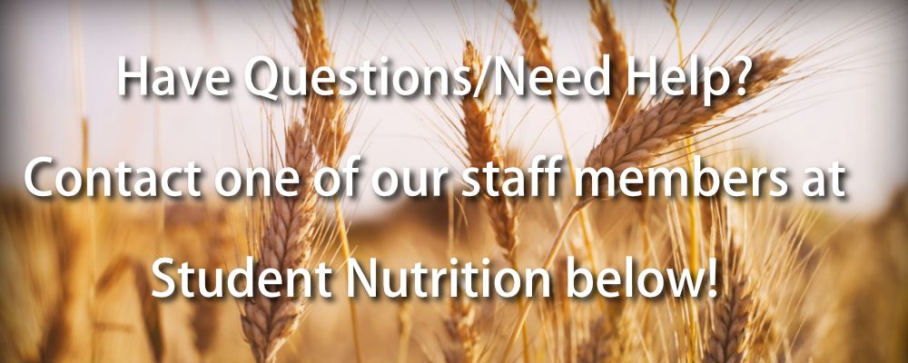 Student Nutrition Contact