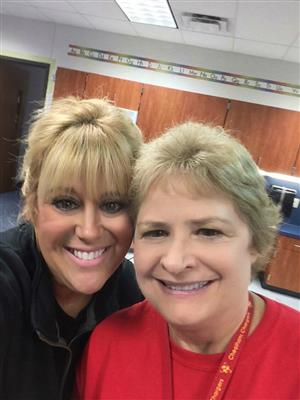 Mrs. Caldwell and Ms. Norris