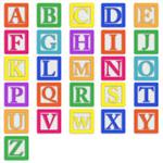 This is a picture of letters to help find the Alphabet Order Link