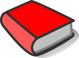 This is picture of a red book to help find Tumblebooks Link