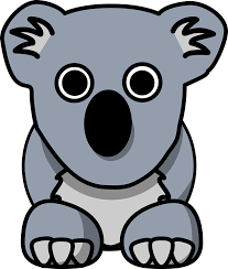 This is a picture of a Koala Bear to help find the Koala Carts link
