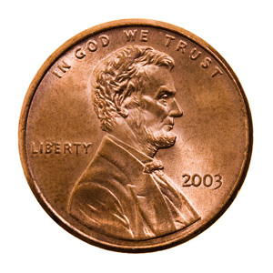 This is a picture of a penny to help find the link to Money