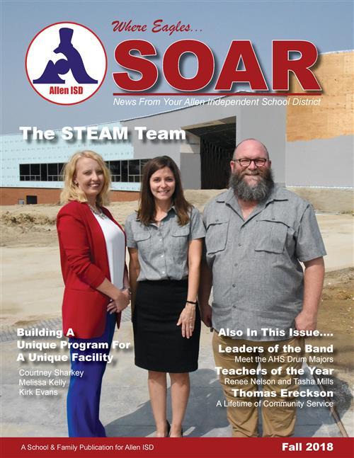 The cover of the Fall 2018 issue of SOAR Magazine