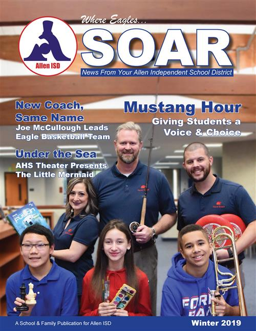 The cover of the Winter 2019 issue of SOAR Magazine.