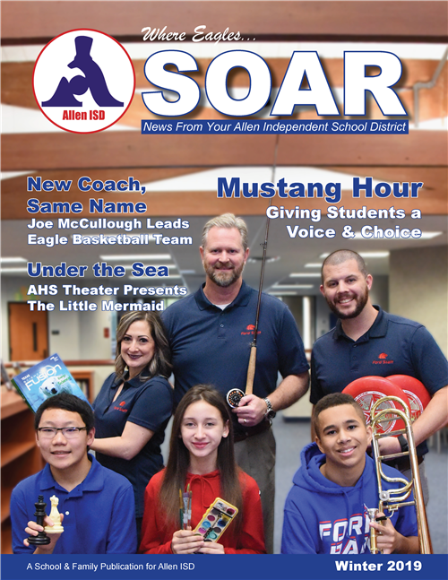 The Winter 2019 issue of SOAR Magazine.