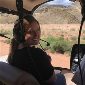 Me in a Helicopter for Zion