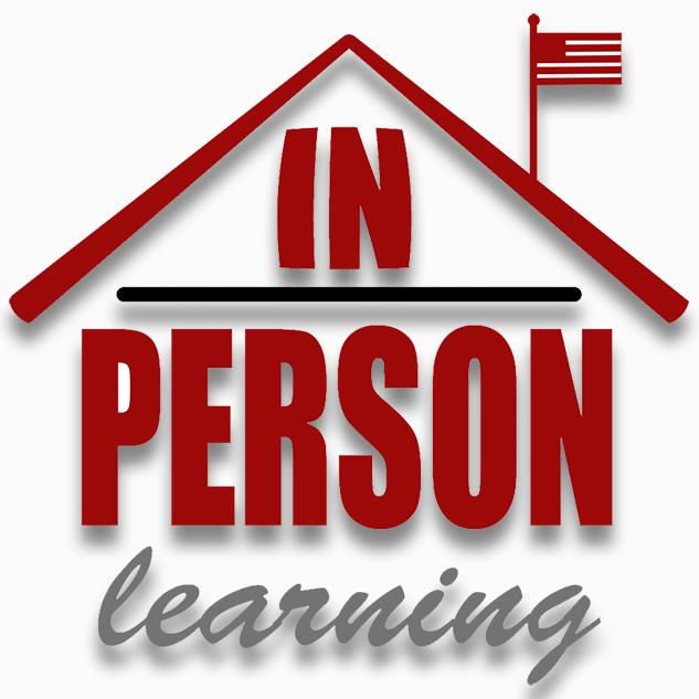 In-Person Learning logo