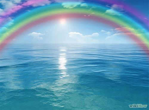 Be the RAINBOW in the Sky Filled with Rain!!!!