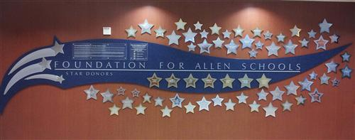 Star Donor Wall