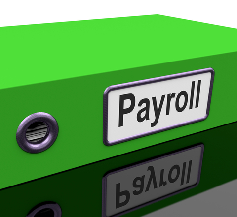 Picture Box Labeled Payroll