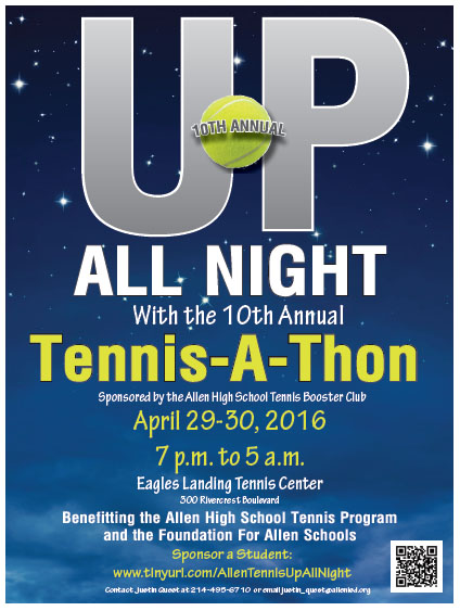 Up All Night Tennis-A-Thon