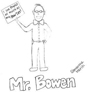 Bowen and his bow ties